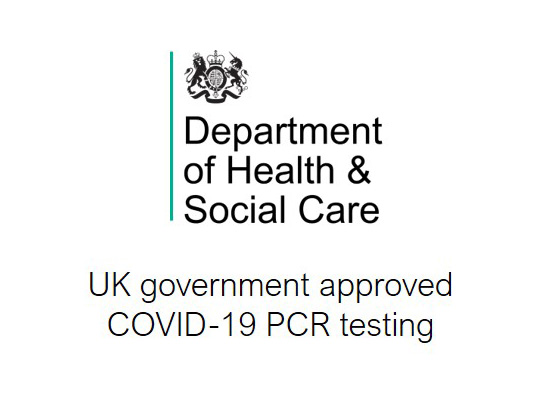 Government Approved Provider for Covid-19 PCR Tests for with Fit to Fly and Test to Release Certificates