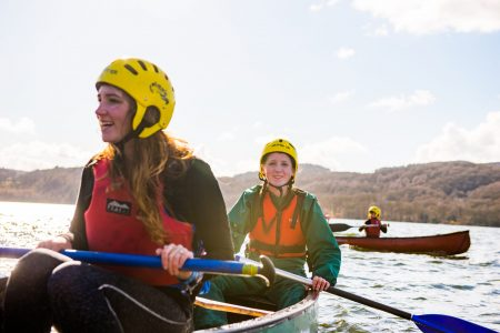 Scouts Open Canoeing