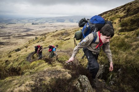 Young Person on expedition