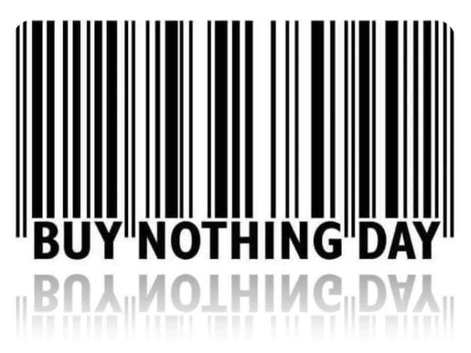 'Boycott Black Friday - Buy Nothing Day' movement