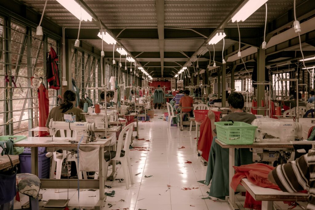 Working conditions in the fashion industry