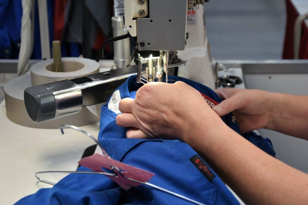 Repairing clothes and circular economy