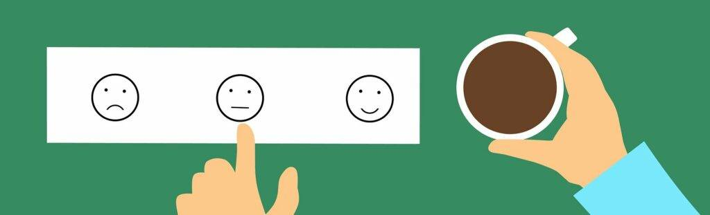 Employee providing feedback to achieve positive effects