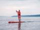 """Beim Videodreh: Pascal Rösler auf seinem Fanatic Strike Carbon 14'0"""" auf dem Starnberger See"""