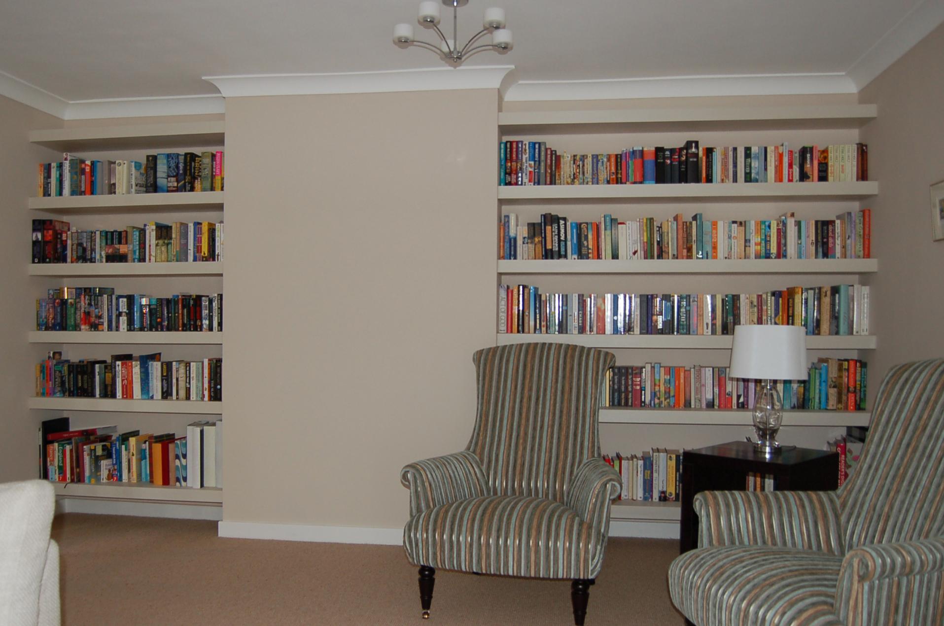 Ten Chunky Shelves