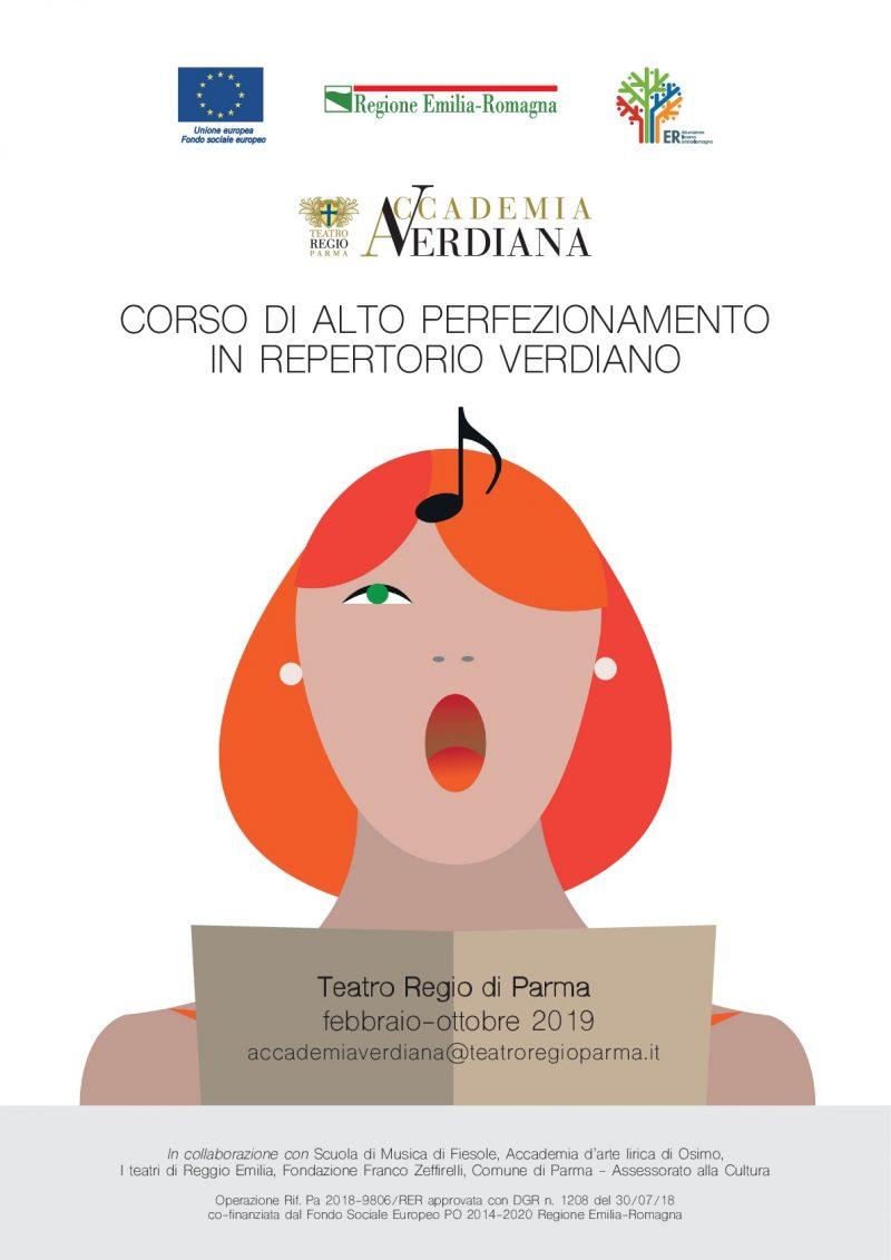 ACCADEMIA VERDIANA 2019  Corso di Alto perfezionamento in repertorio verdiano