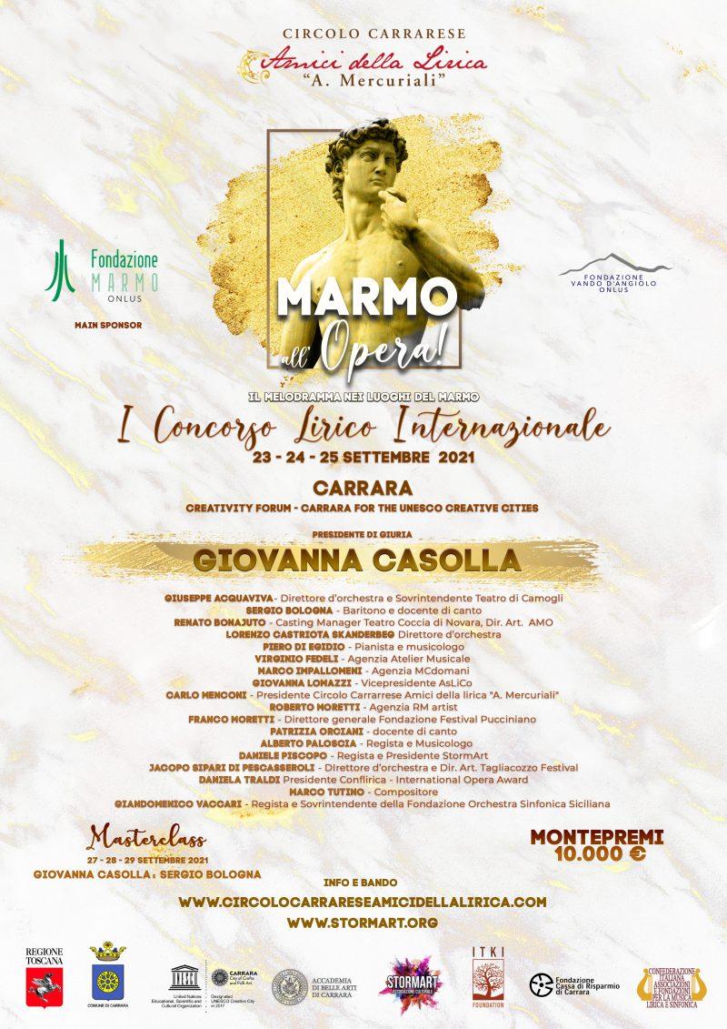 IConcorso Lirico InternazionaleMarmo all'Opera!