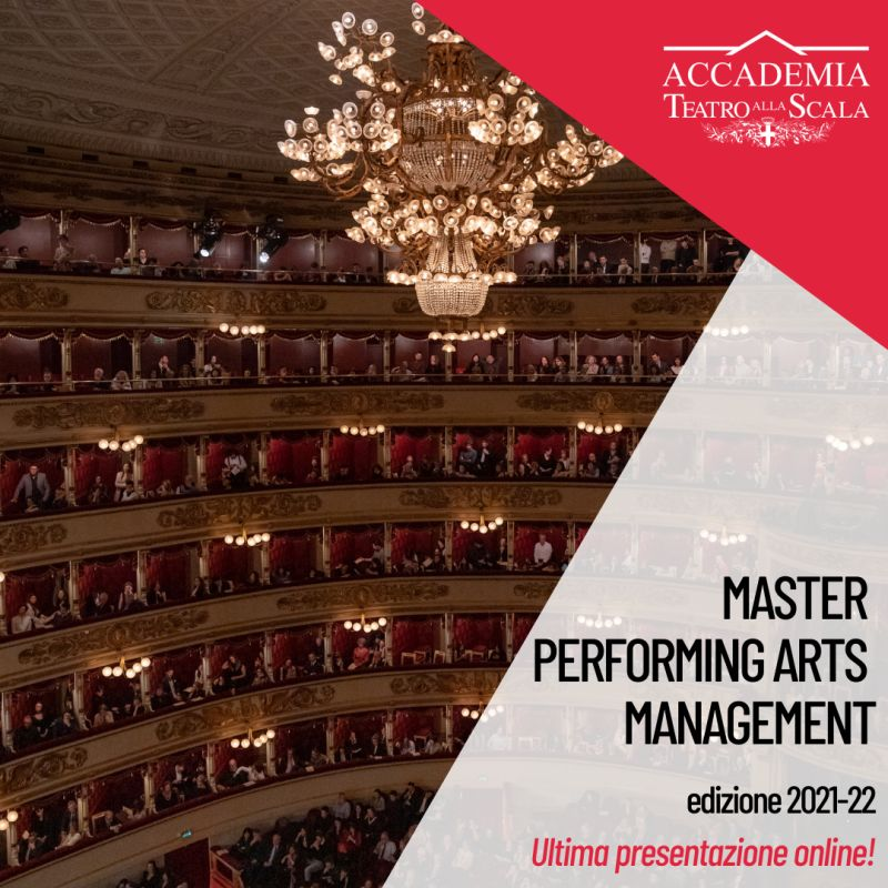 ACCADEMIA TEATRO ALLA SCALA: Master in Performing Arts Management