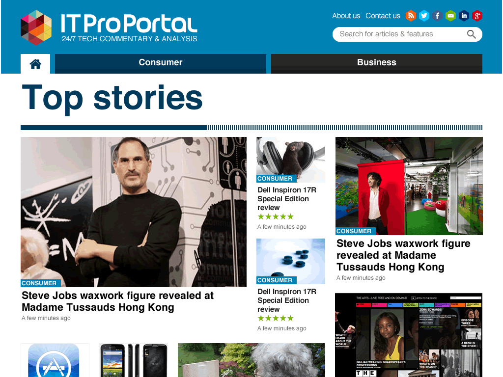 Protected: IT ProPortal – redesign