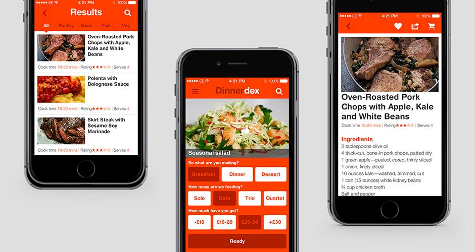 Protected: DinnerDex – App design