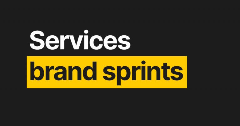 Brand Sprints
