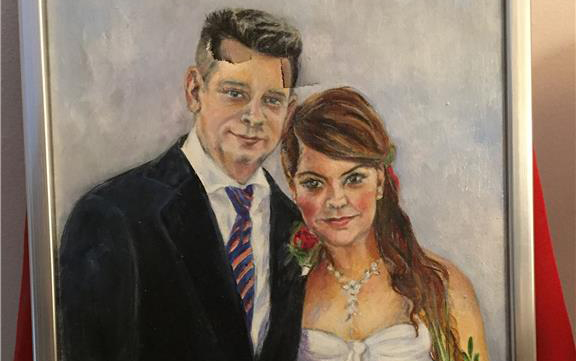 Marcus Birro och Jonna Vanhatalo. Foto: Jonna Vanhatalo