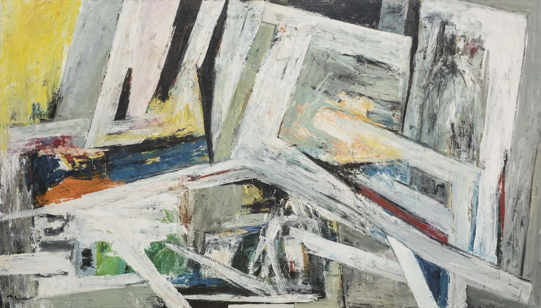 modern kunstenaar andré bogaert - abstract modernism