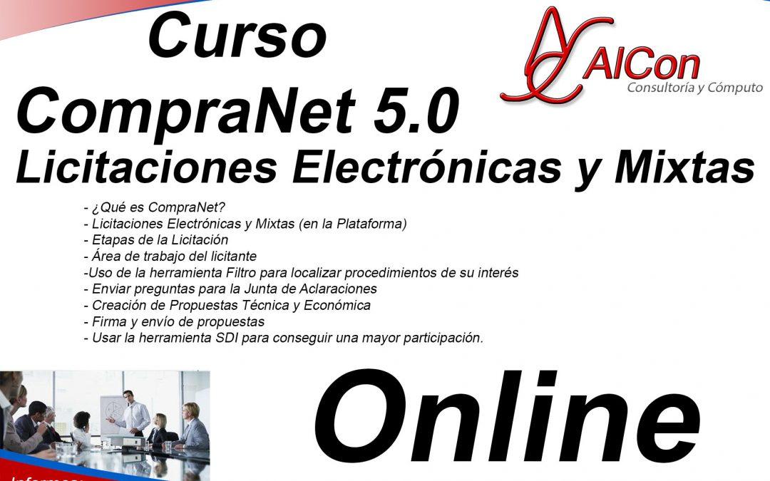 CompraNet 5.0 Online