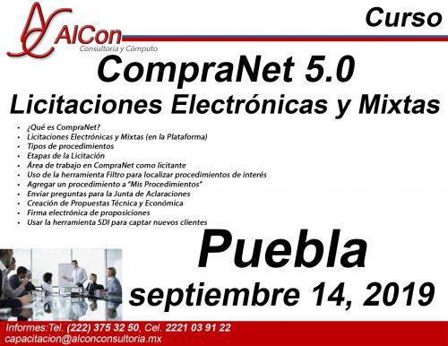 Curso de CompraNet 5.0, Puebla, AlCon Consultoría y Cómputo, AlCon Consulting And Commerce