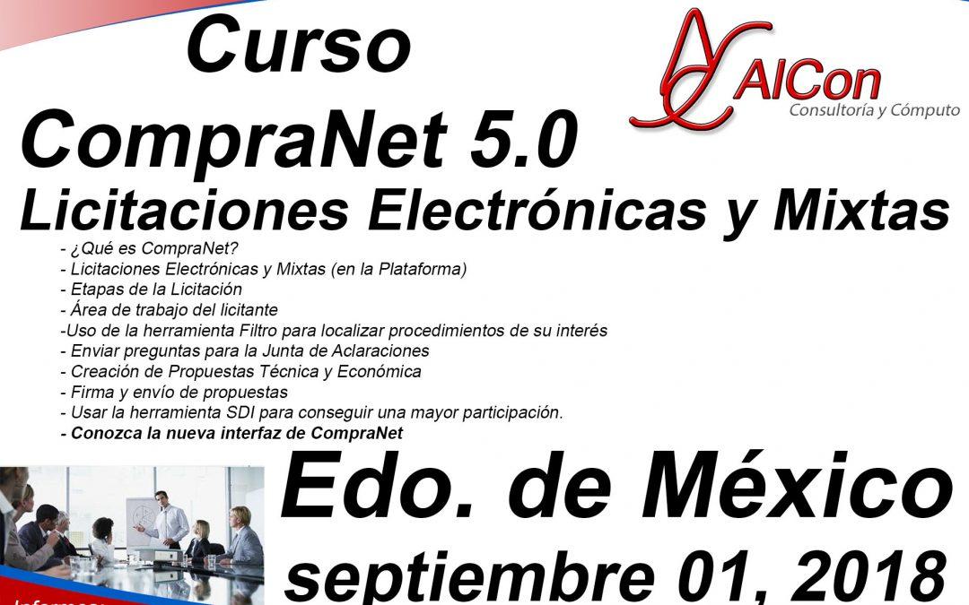 Curso CompraNet 5.0 Estado de México