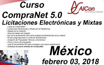 Curso de CompraNet 5.0, México