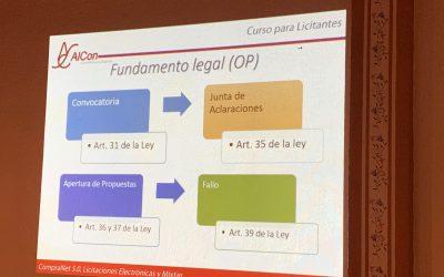 Curso de CompraNet 5.0 en Xalapa, Ver.