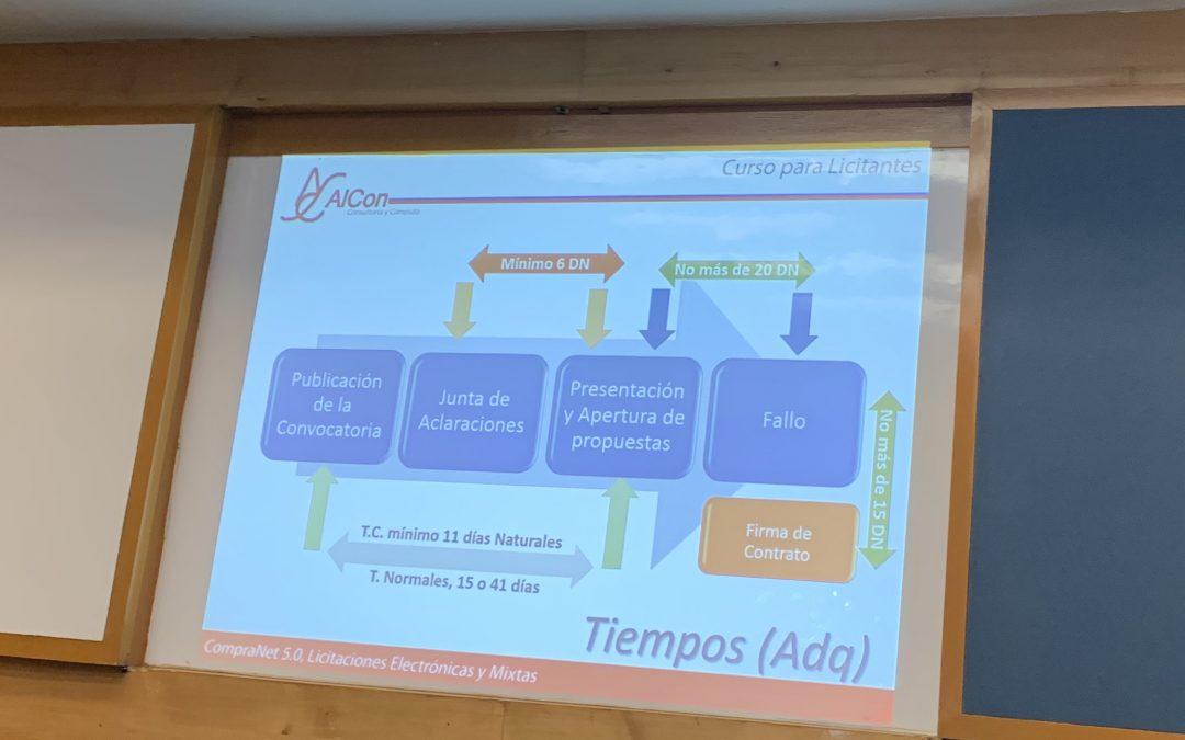 CompraNet 5.0, AlCon Consultoría y Cómputo Arcadio Alonso Sánchez