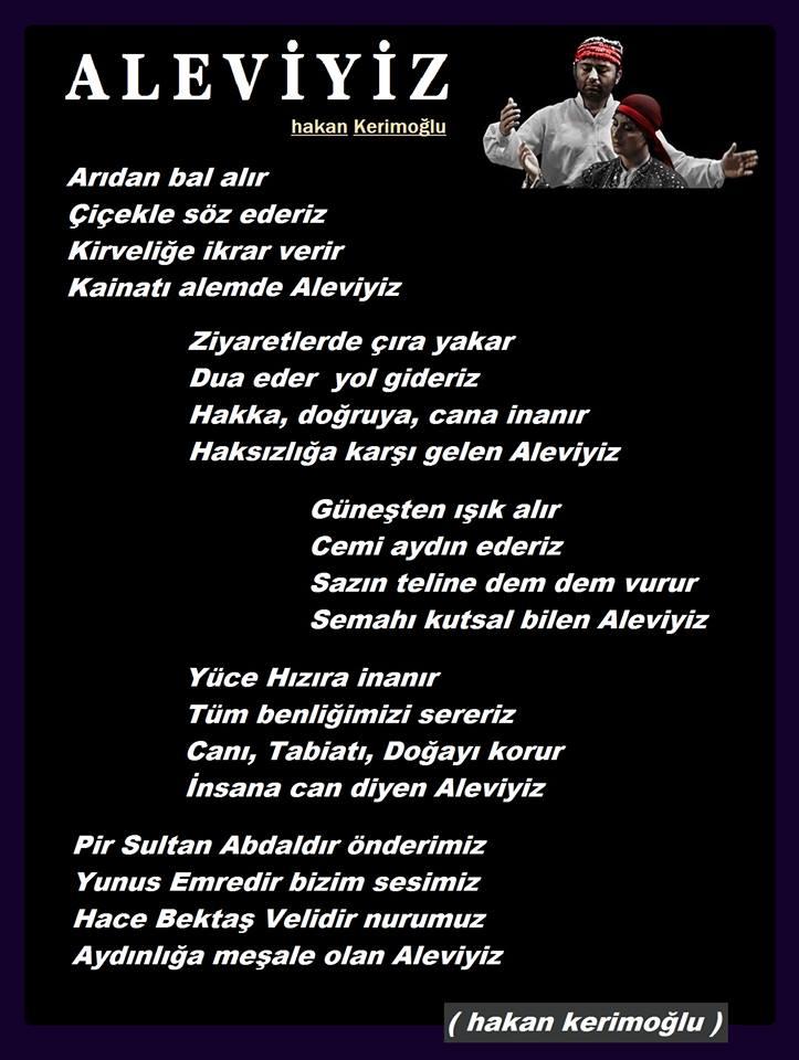 Alevi Bektaşi Kızılbaş Pir Sultan İslam dışı Atatürk faşist ehlibeyt 12 imam Devrimci Aleviler Birliği DAB aleviyiz
