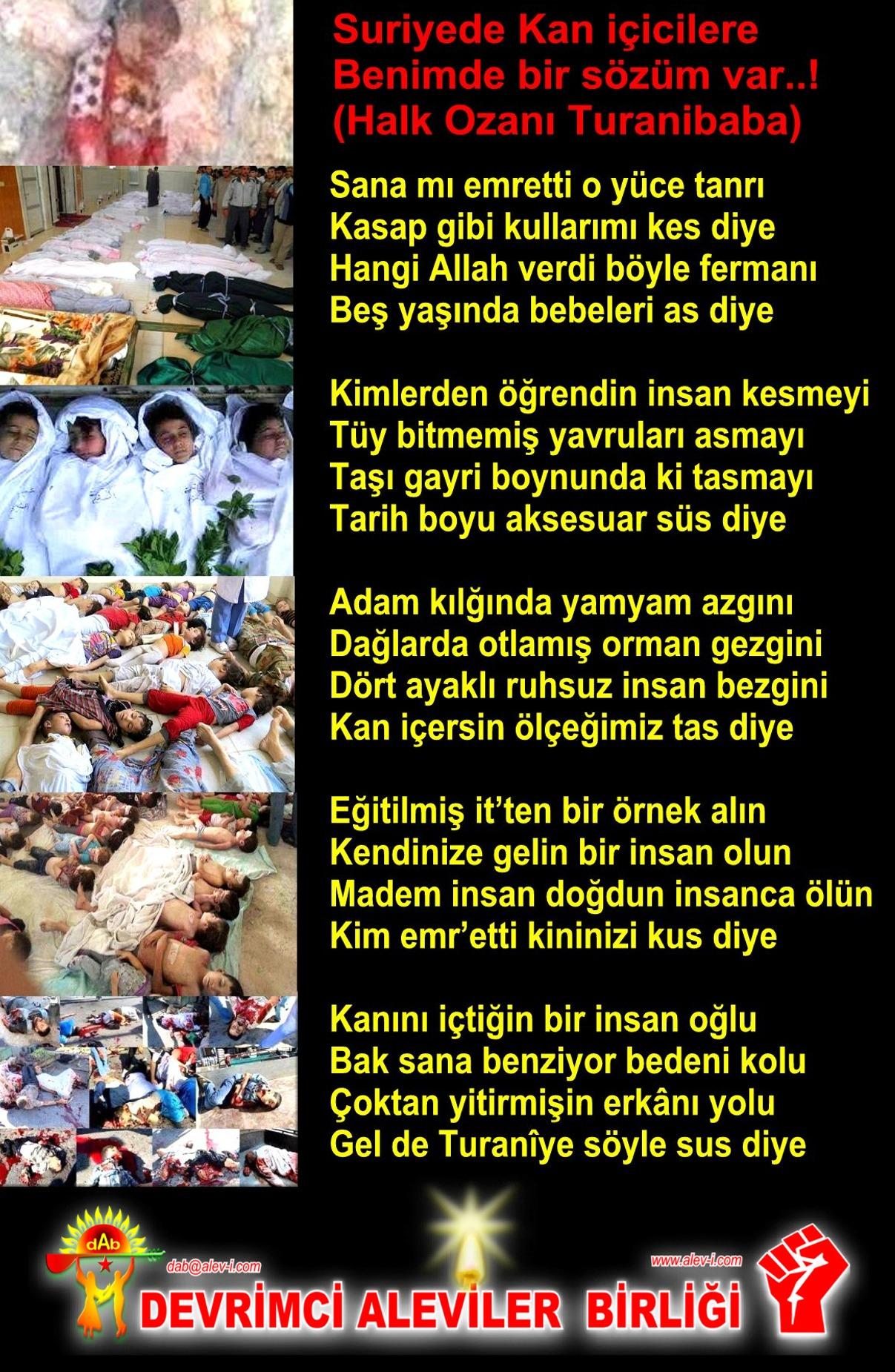 Alevi Bektaşi Kızılbaş Pir Sultan Devrimci Aleviler Birliği DAB cocoukas