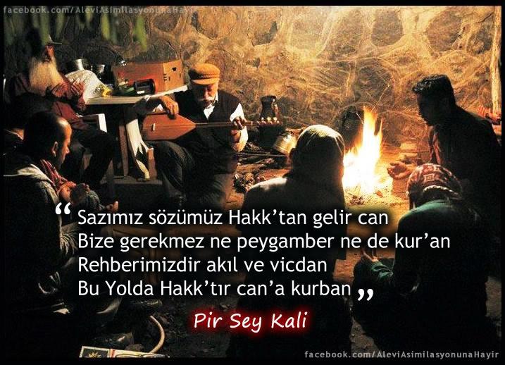 Alevi Bektaşi Kızılbaş Pir Sultan Devrimci Aleviler Birliği DAB deyis