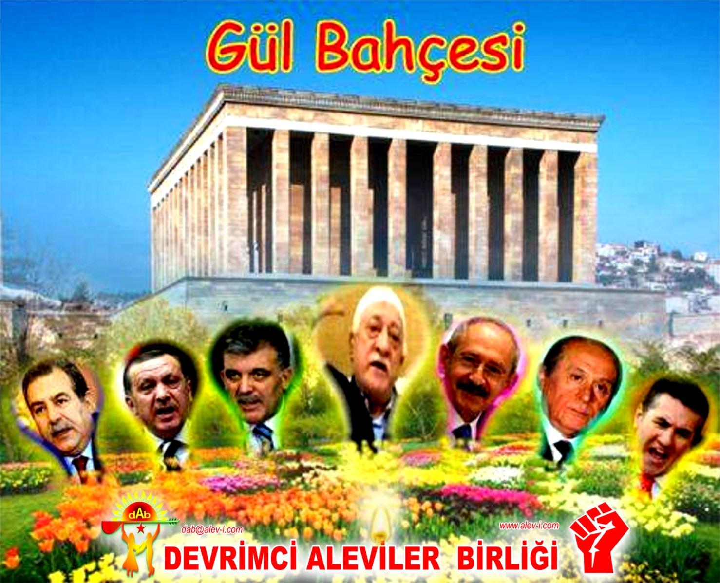 Alevi Bektaşi Kızılbaş Pir Sultan Devrimci Aleviler Birliği DAB gul bahcesi