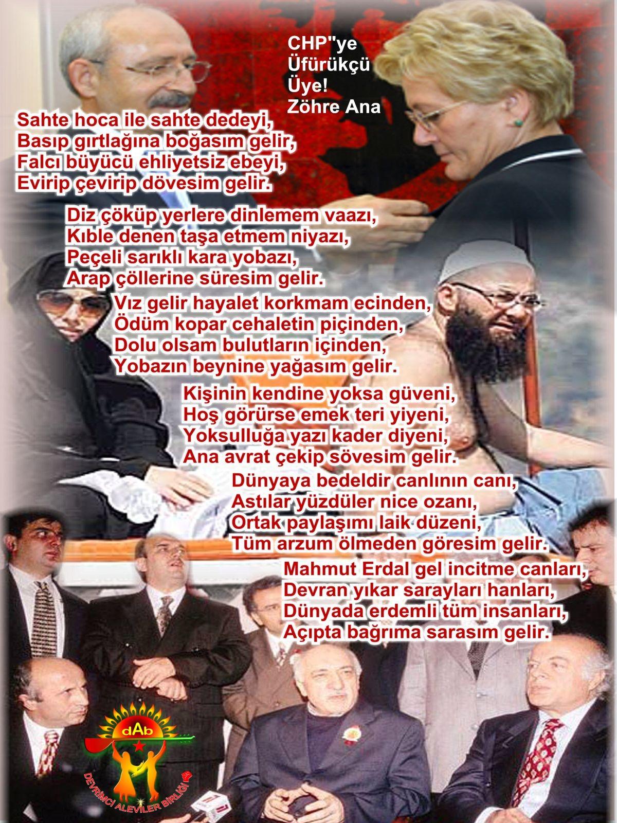 Alevi Bektaşi Kızılbaş Pir Sultan Devrimci Aleviler Birliği DAB sahte hoca dede