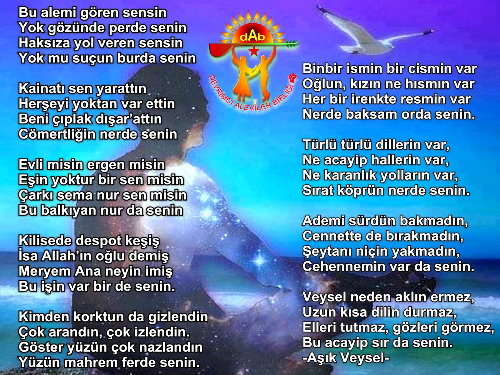 Alevi Bektaşi Kızılbaş Pir Sultan Devrimci Aleviler Birliği DAB veysel