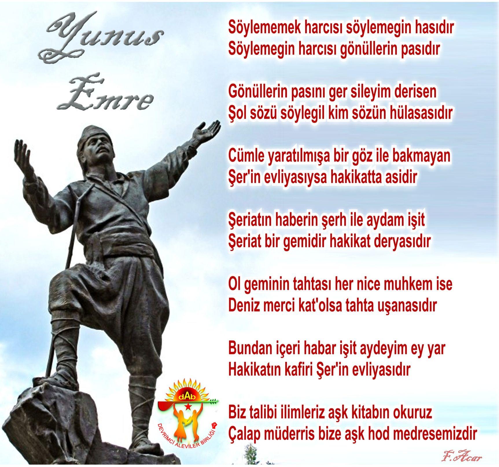 Alevi Bektaşi Kızılbaş Pir Sultan Devrimci Aleviler Birliği DAB yunus evliya