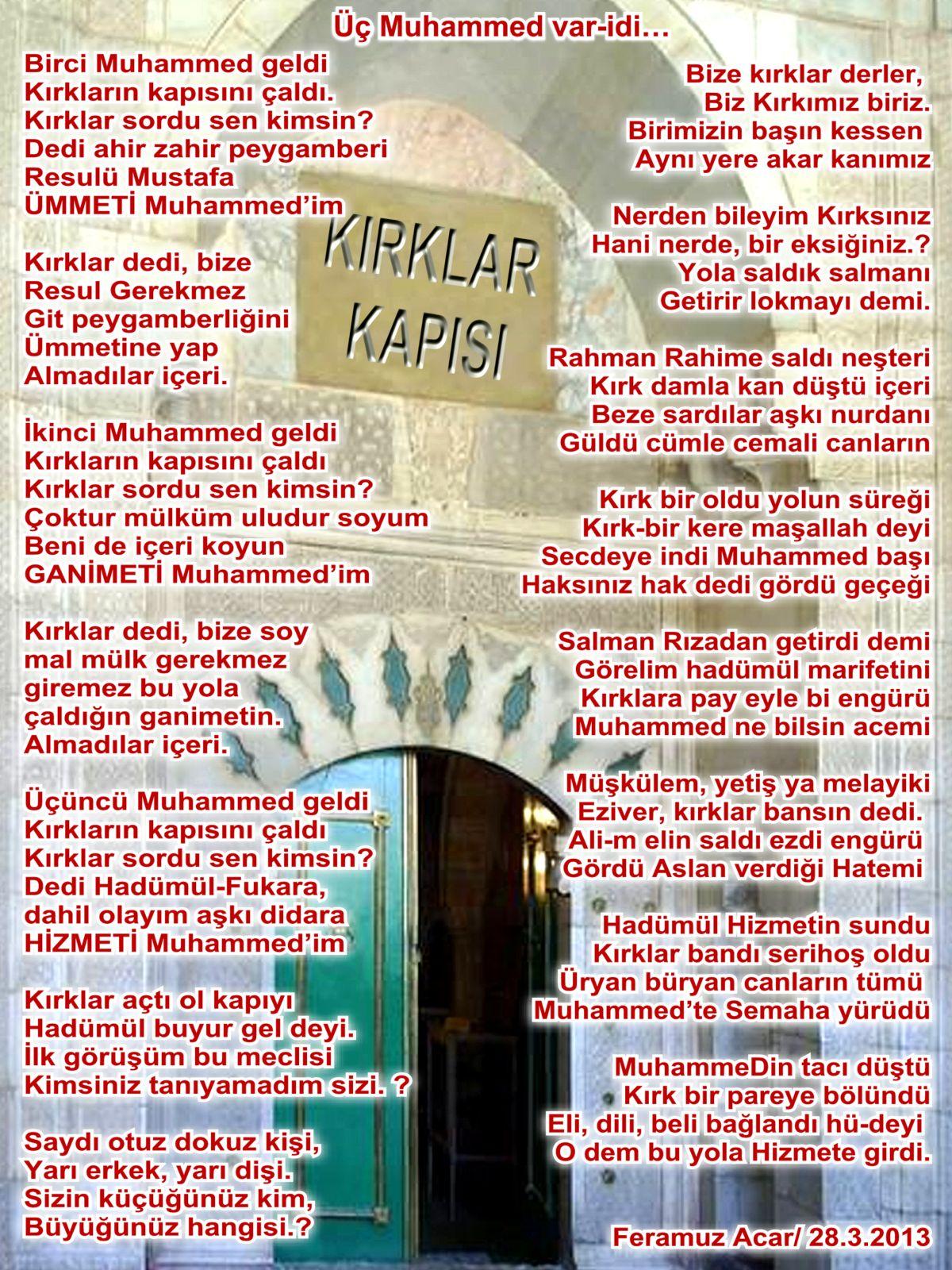 Kırklar Kapısı 3 Muhammed