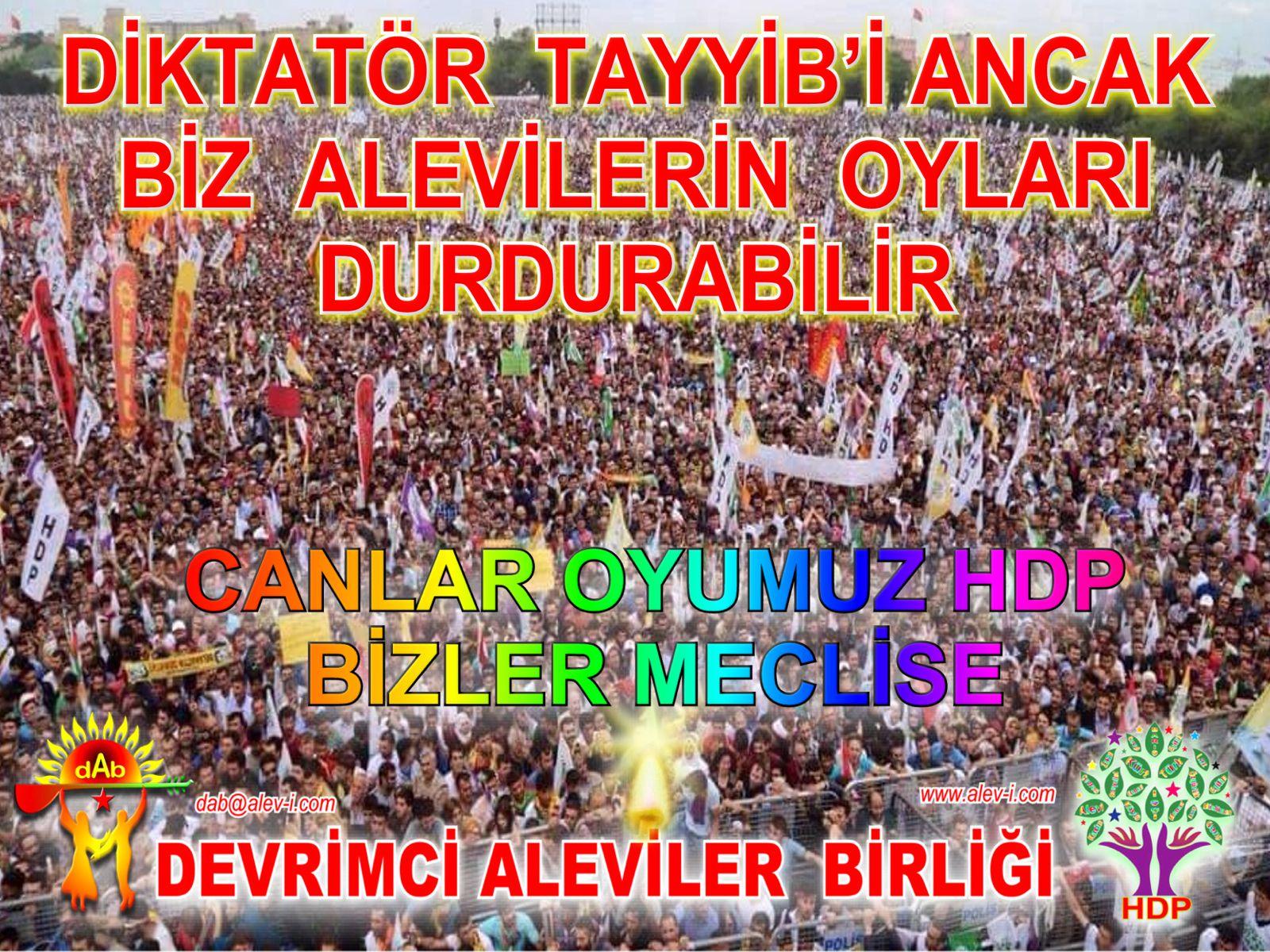 HDP alevi oylari AKP dur2222
