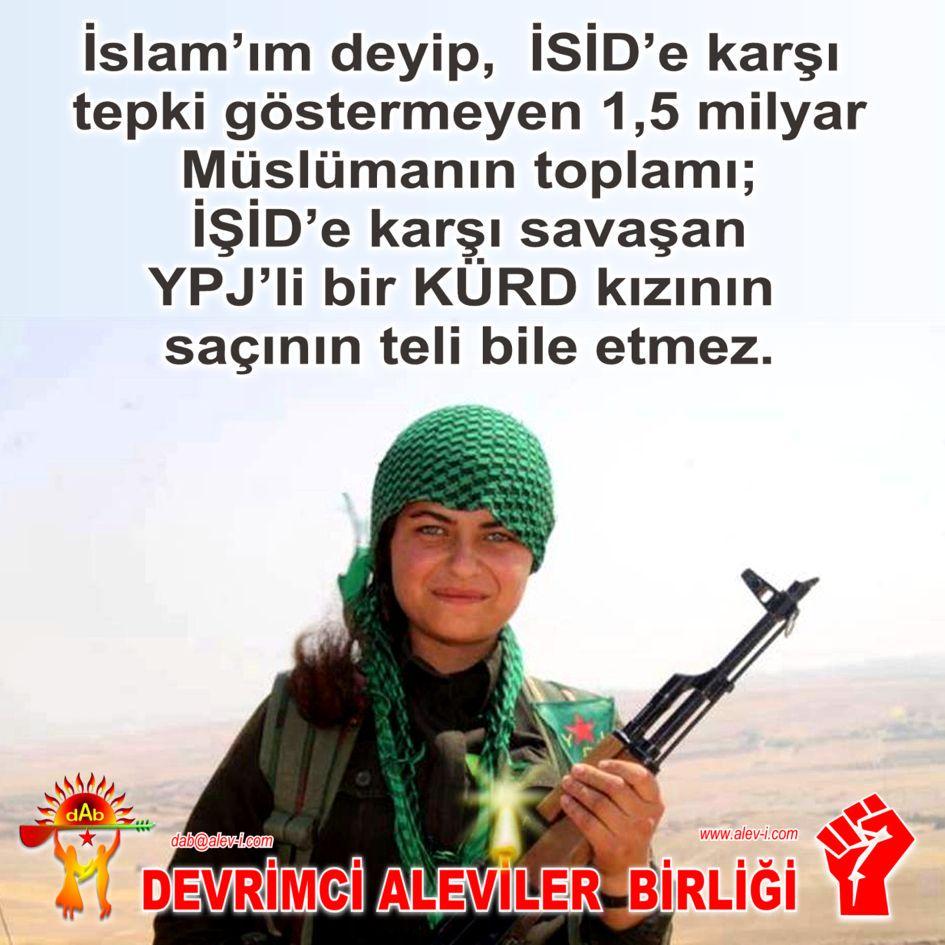 Ypj kadin sac teli islam alevi pir sultan haci bektas bektasi kizilbas devrimci aleviler birligi DAB
