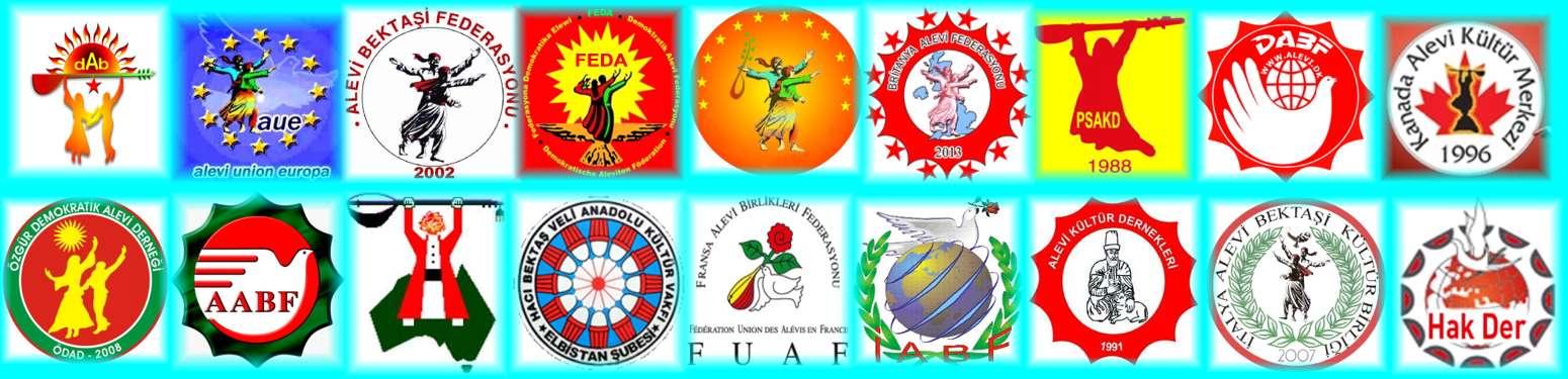 DAB devrimci Aleviler birligi Alevi bektasi kizilbas pir sultan cem cemevi kurum logo