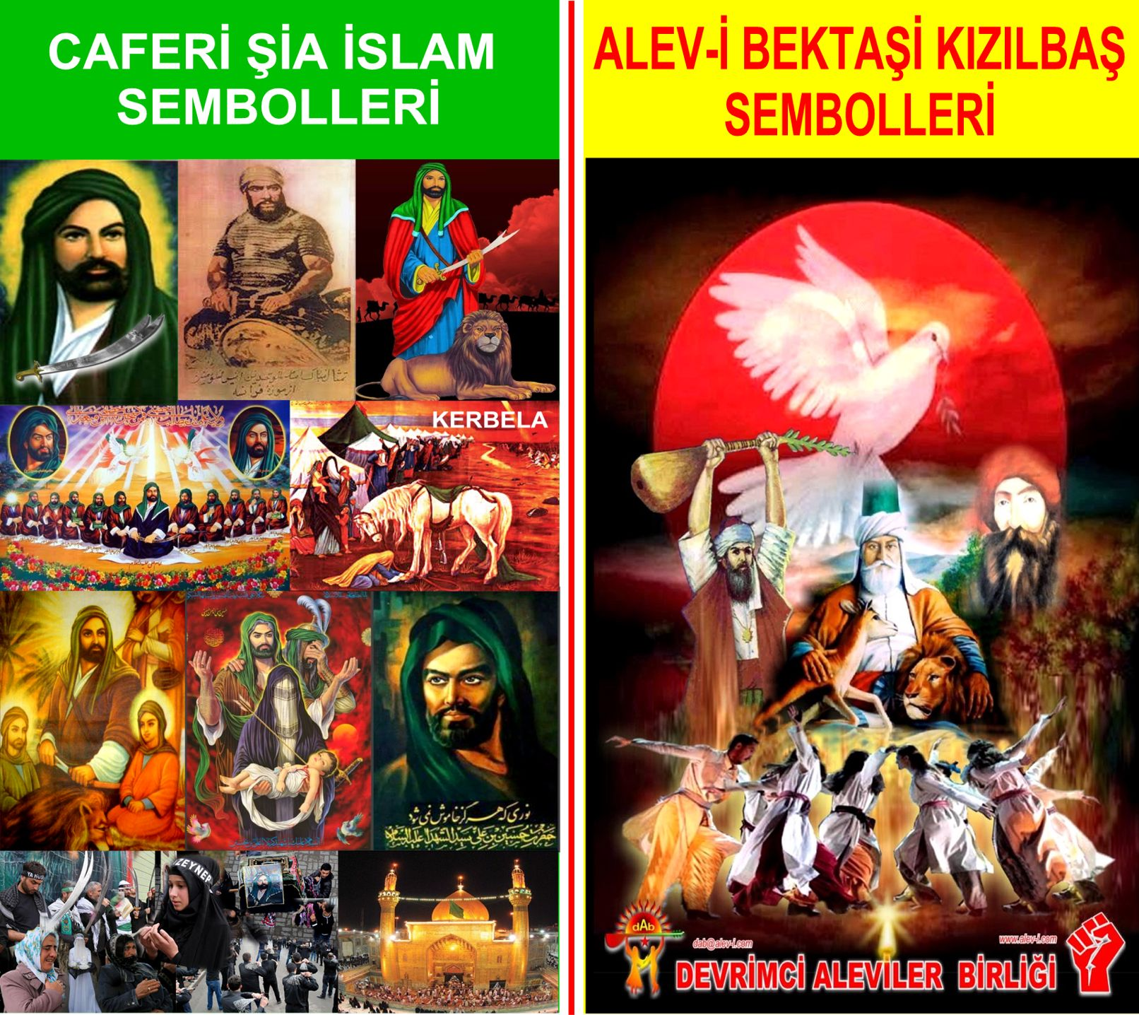 1 Hz imam Ali divani Alevi bektasi kizilbas pir sultan devrimci aleviler birligi DAB Feramuz Sah Acar alevi bektasi ve sia islam sembol