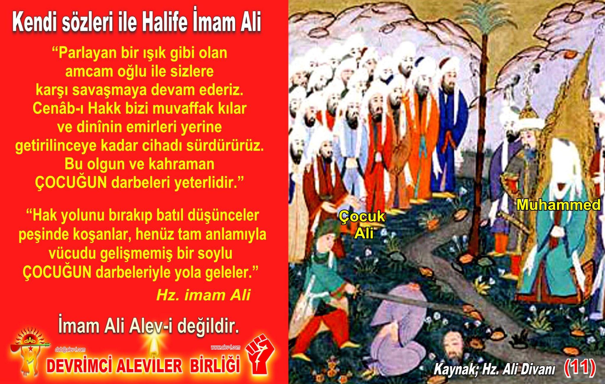 11 Hz imam Ali divani Alevi bektasi kizilbas pir sultan devrimci aleviler birligi DAB Feramuz Sah Acar