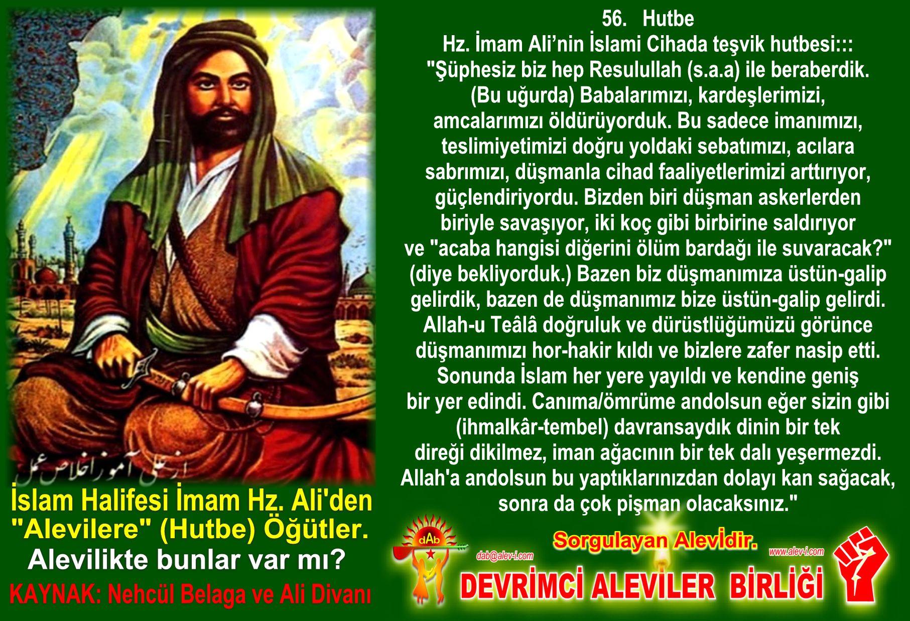 12 Hz imam Ali divani Alevi bektasi kizilbas pir sultan cemevi cem semah devrimci aleviler birligi DAB Feramuz Sah Acar halife imam hz ali den hutbe ogut inciler 7