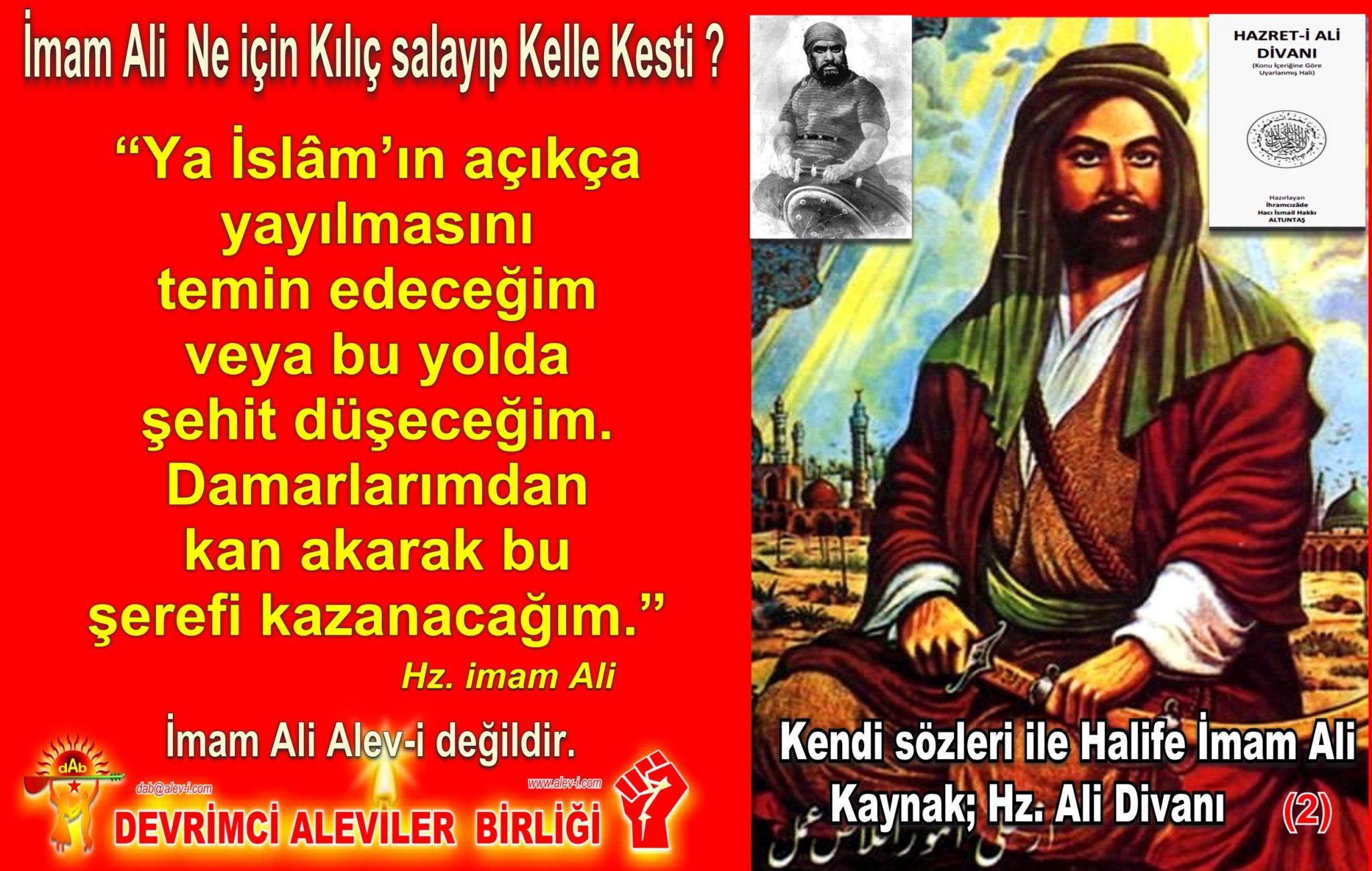 2 Hz imam Ali divani Alevi bektasi kizilbas pir sultan devrimci aleviler birligi DAB Feramuz Sah Acar