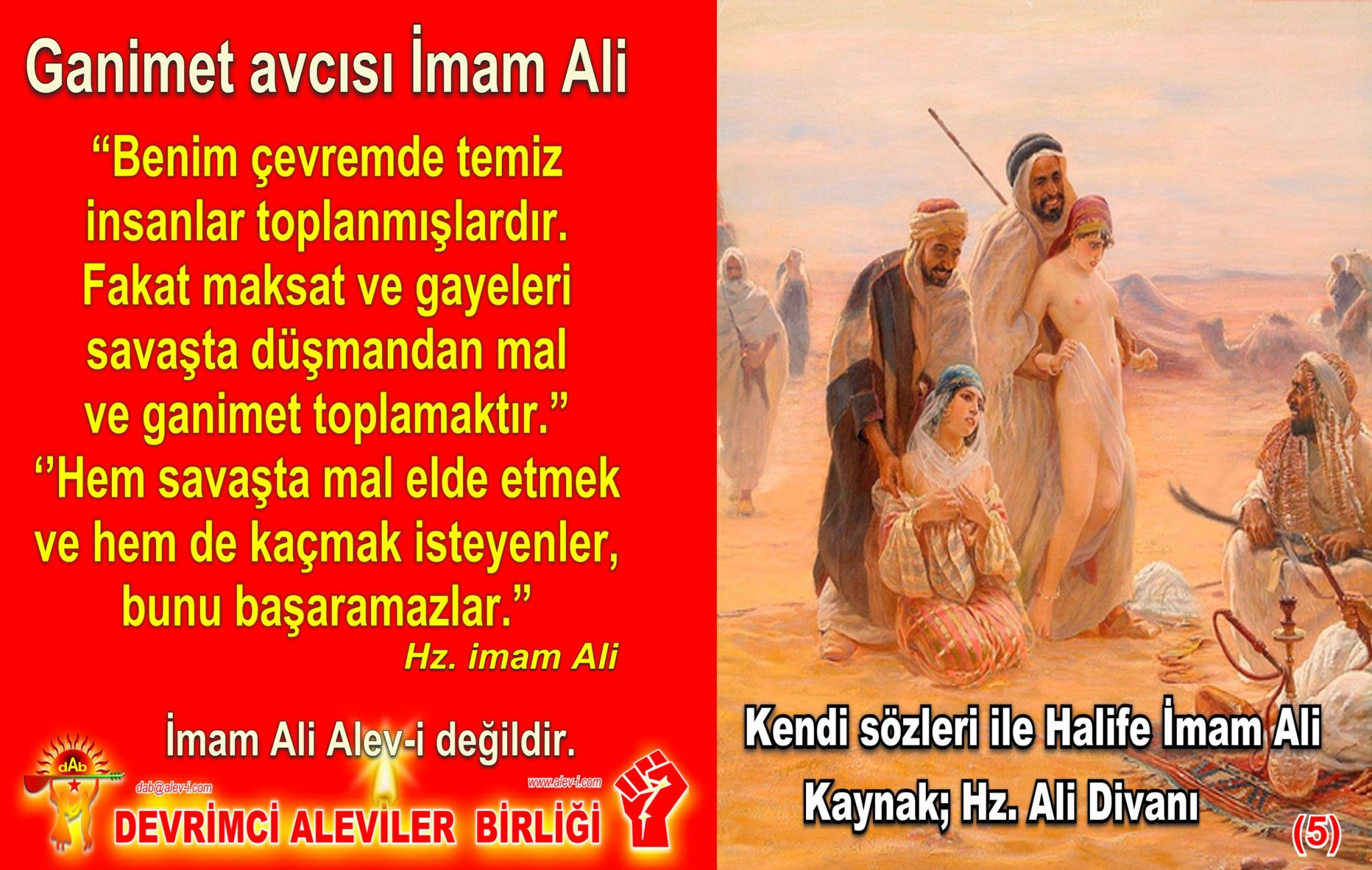 5 Hz imam Ali divani Alevi bektasi kizilbas pir sultan devrimci aleviler birligi DAB Feramuz Sah Acar