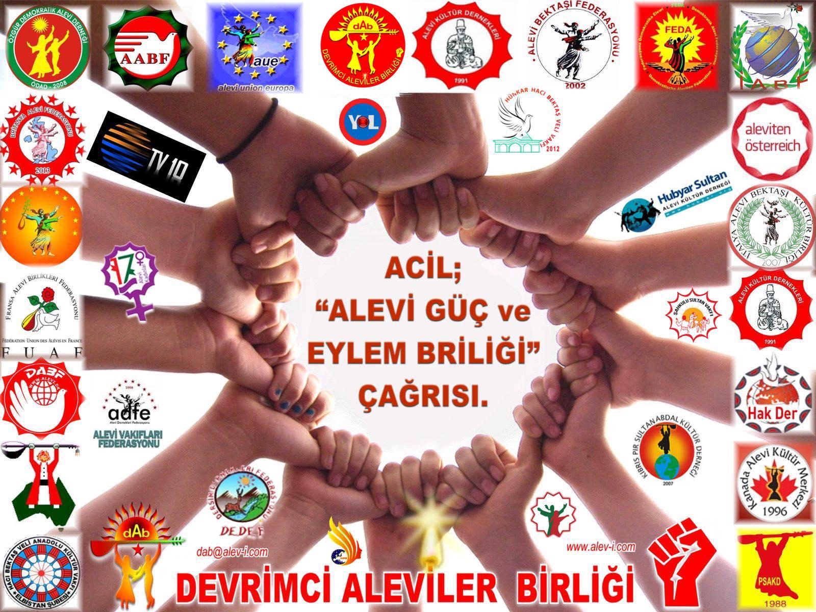 AGEB Devrimci Aleviler GUC birligi DAB cagrı logo2