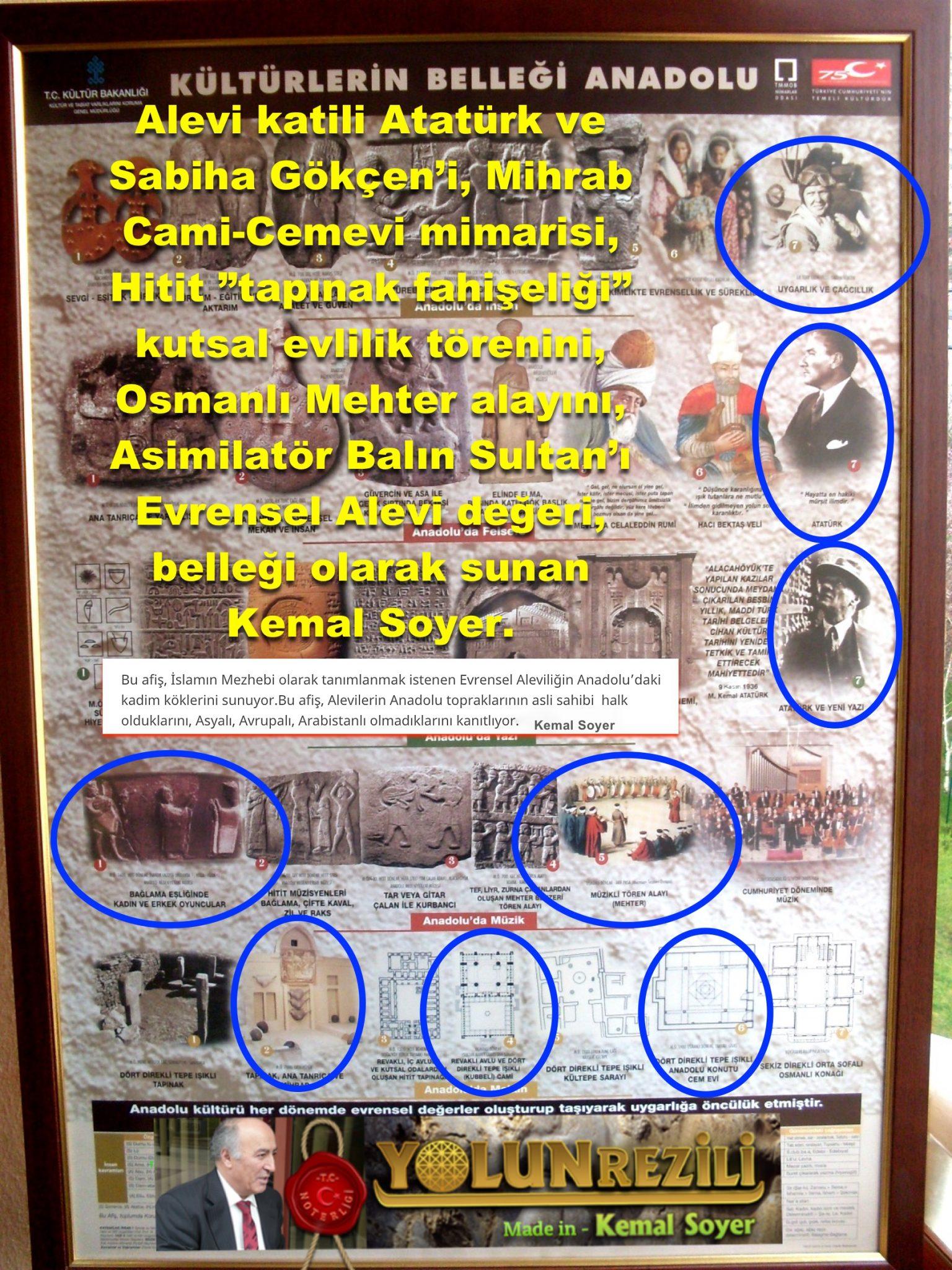 hitit ataturk kemal soyer AFİS Yolun ezeli Alevi cem semah Bektaşi kızılbaş pir sultan devrimci Aleviler DAB Acar