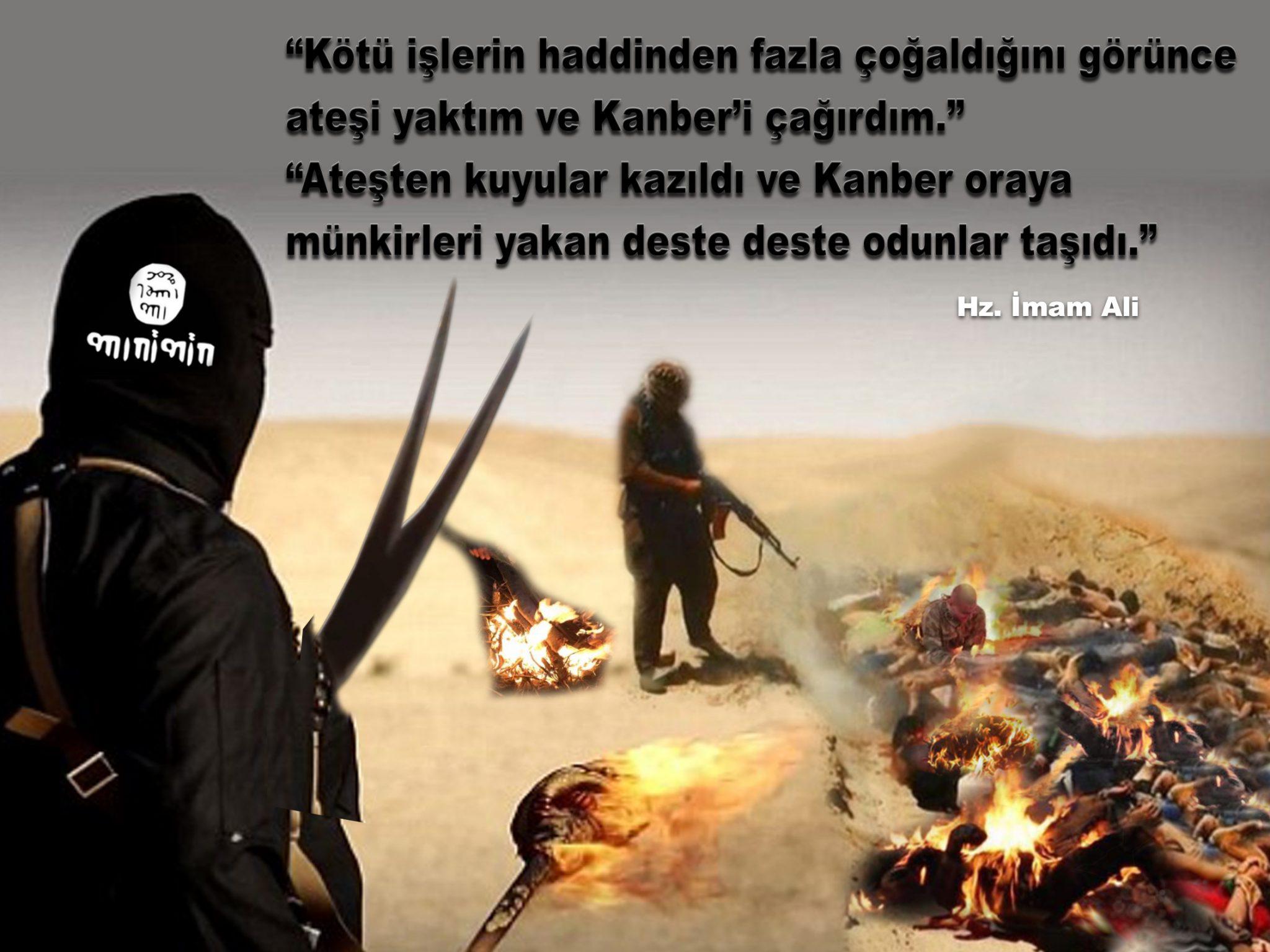 isid imam hz ali Alevi Ehlibet kizilbas bektasi alevilik Ali insan yaktı