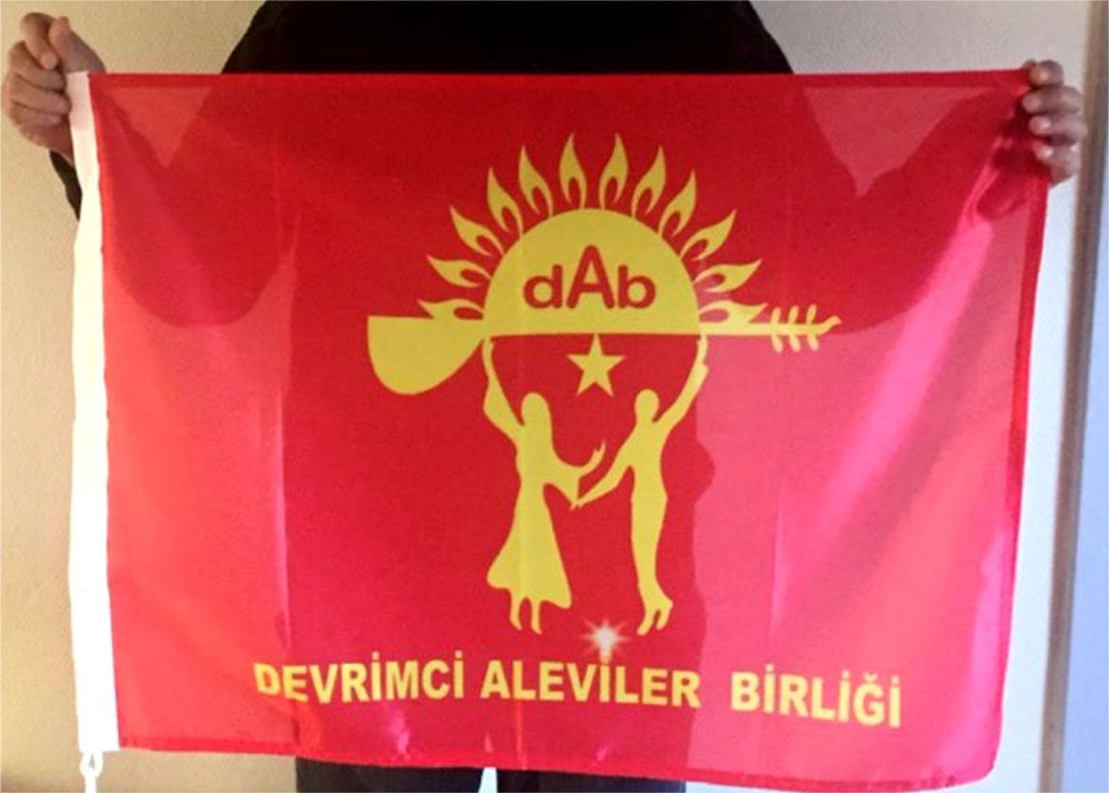 Devrimci Aleviler Birliği DAB Alevi Kızılbaş Bektaşi pir sultan cem hz Ali 12 imam semah Feramuz Şah Acar DAB bayrak 2017 son