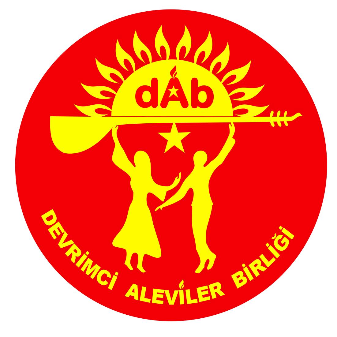 Devrimci Aleviler Birliği DAB Alevi Kızılbaş Bektaşi pir sultan cem hz Ali 12 imam semah Feramuz Şah Acar DABLOGOPNG2