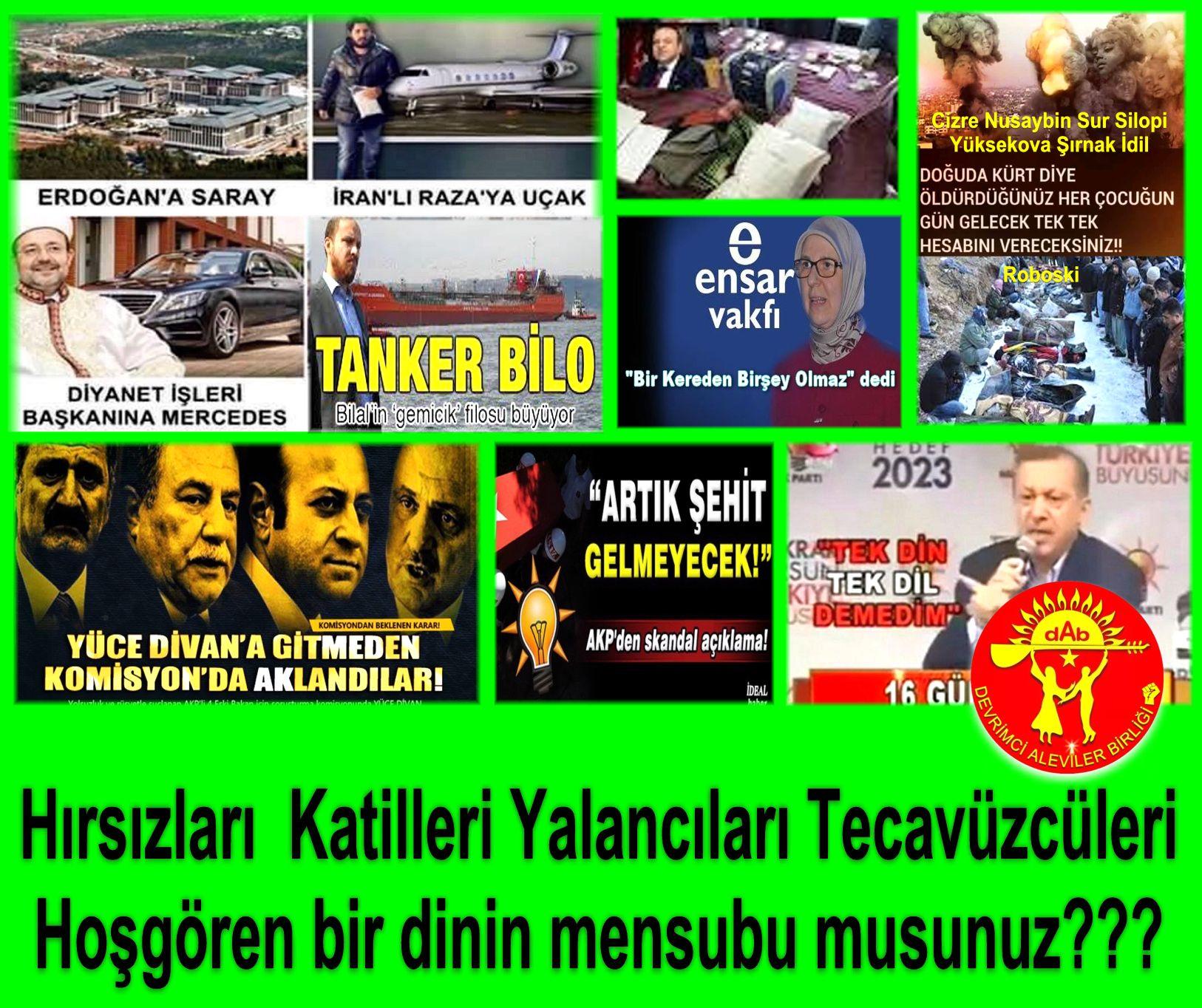 Devrimci Aleviler Birliği DAB Alevi Kızılbaş Bektaşi pir sultan cem hz Ali 12 imam semah Feramuz Şah Acar akp islam hirsiz yolsuz2