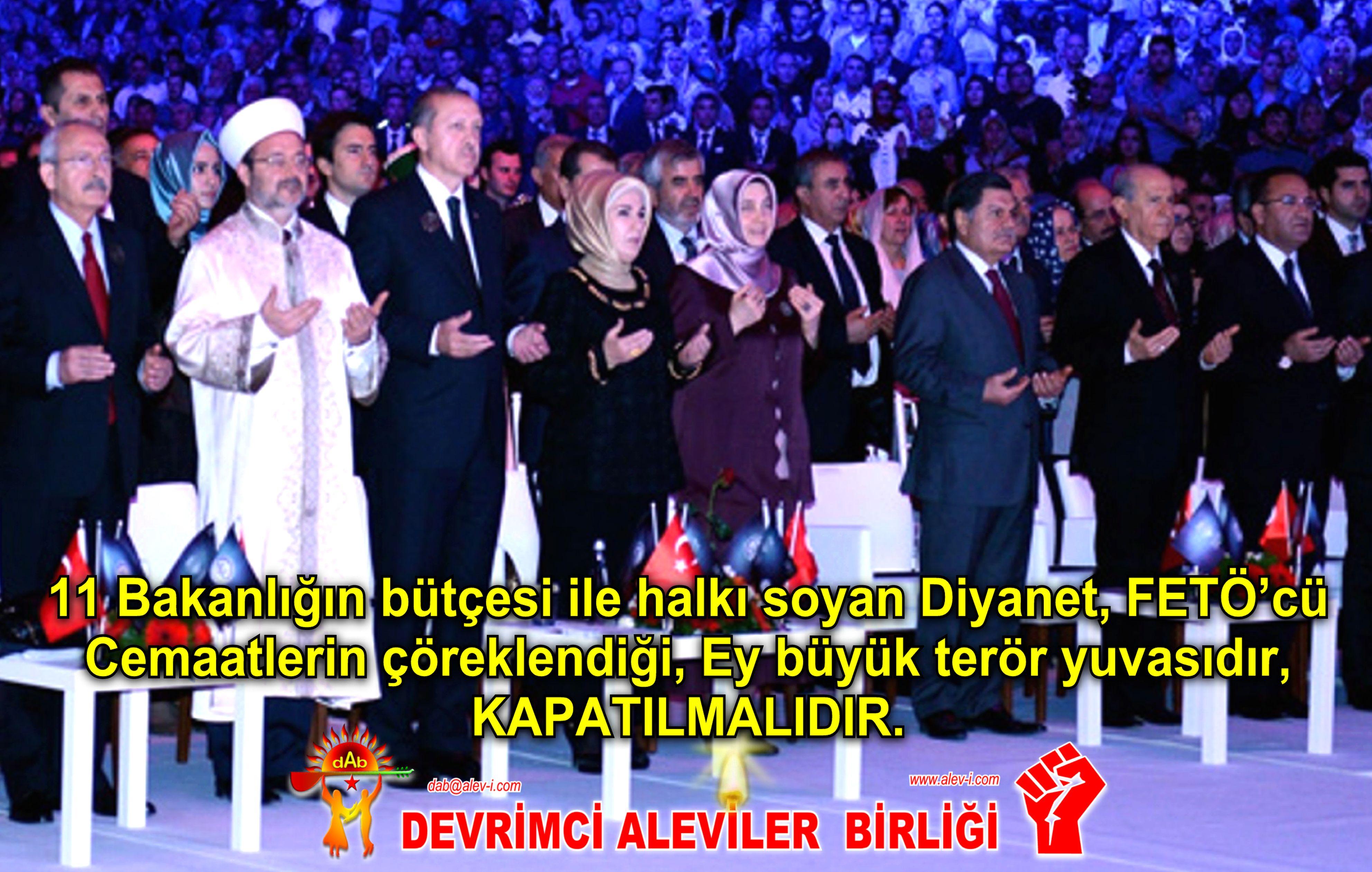 Devrimci Aleviler Birliği DAB Alevi Kızılbaş Bektaşi pir sultan cem hz Ali 12 imam semah Feramuz Şah Acar dib diyanet feto teror yuvasi