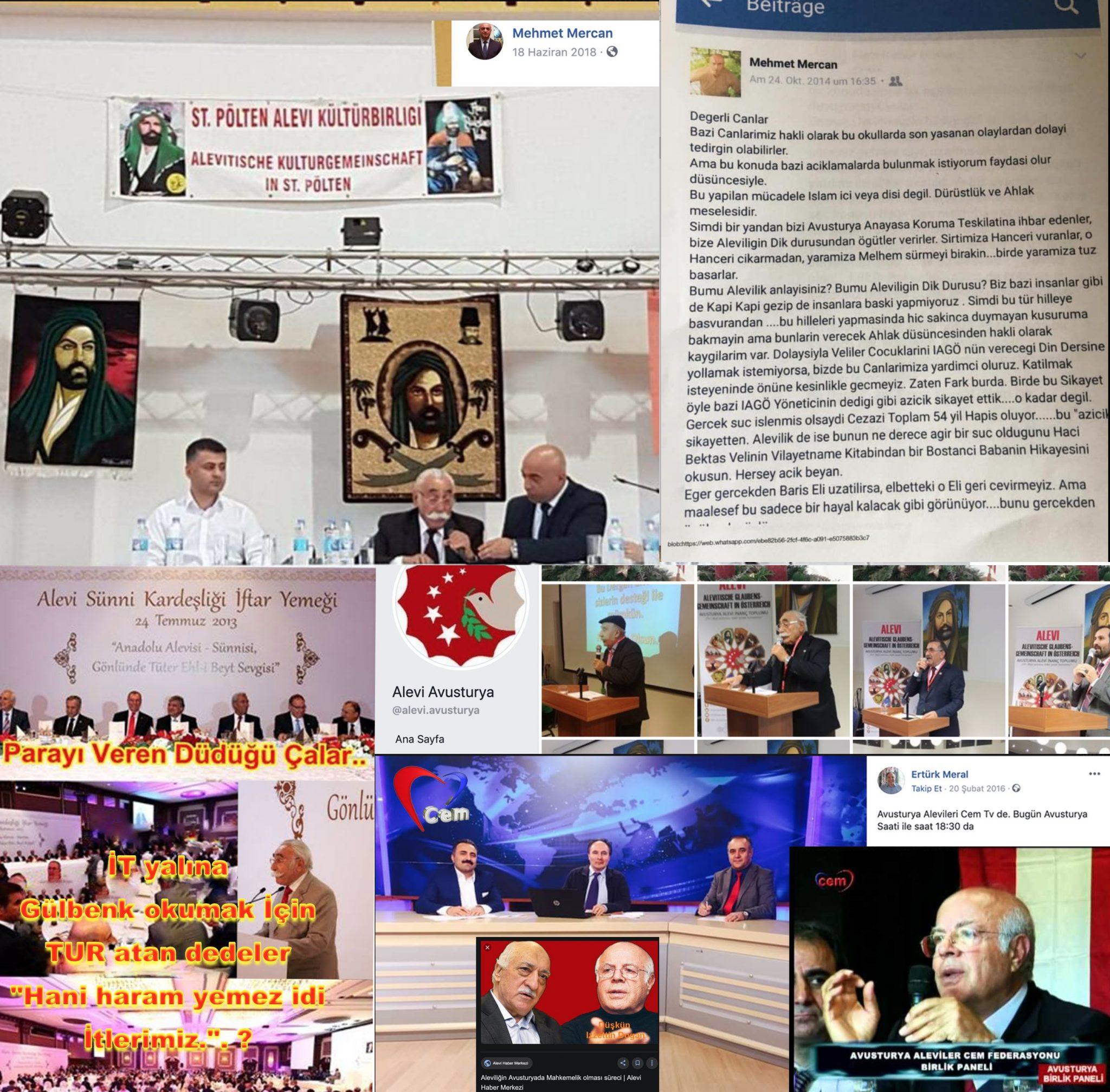 11 9 Avusturya Alevi islamcı Aleviler  DAB devrimci Aleviler Birliği İt yalına gülbenk turu