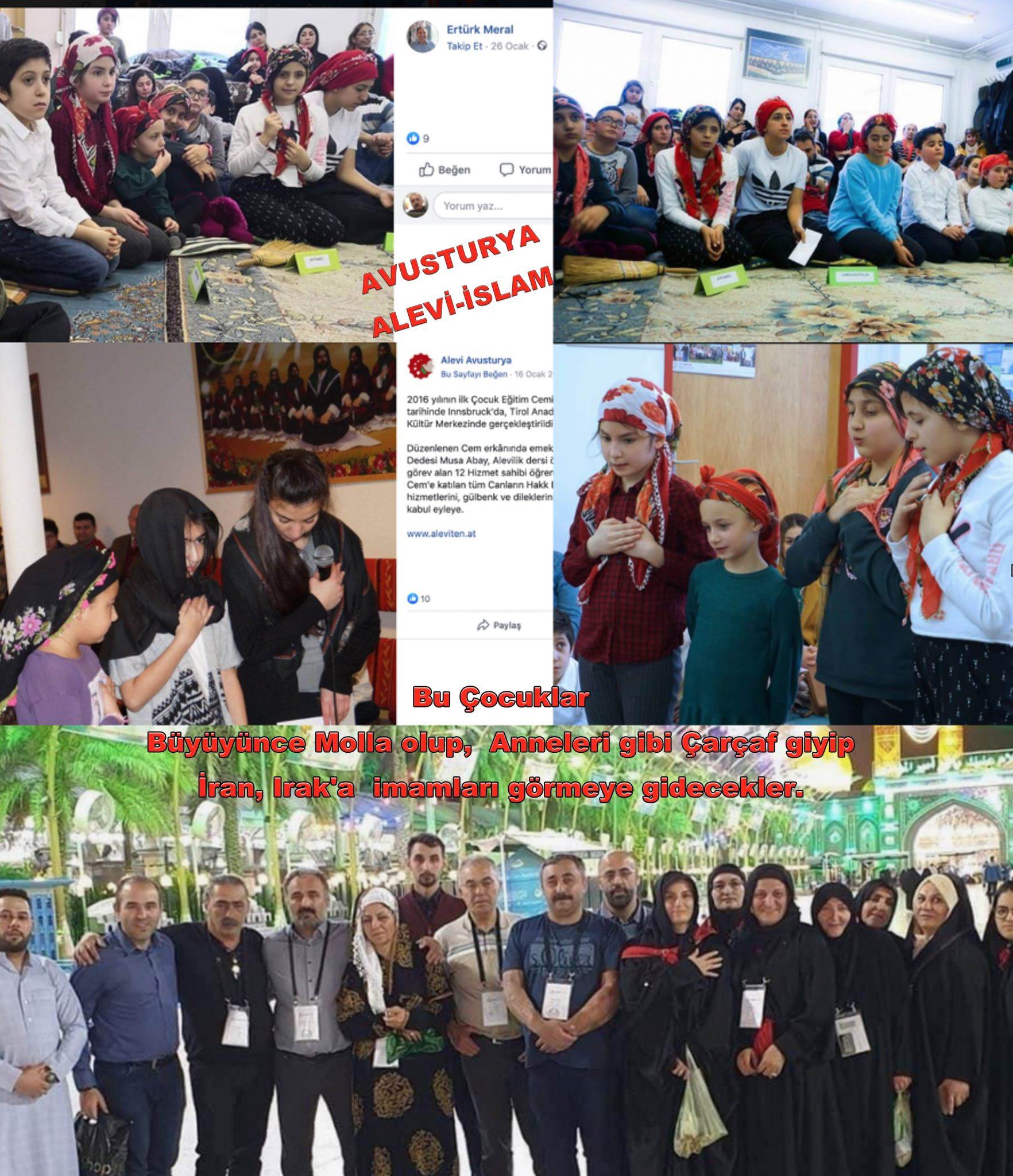 4 Avusturya Alevi islamcı Aleviler  DAB devrimci Aleviler Birliği molla çocuk çarsaf