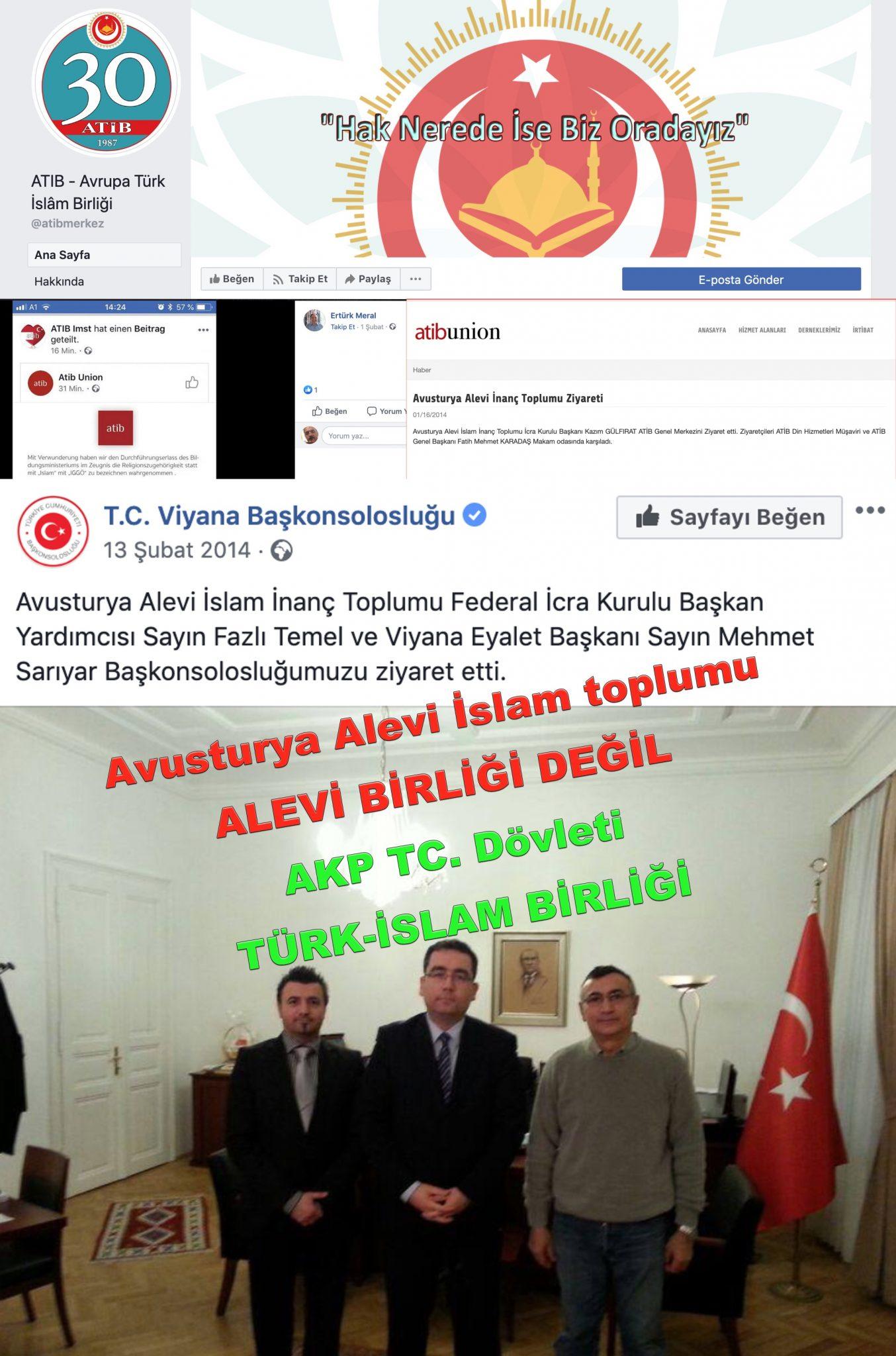 6 Avusturya Alevi islamcı Aleviler  DAB devrimci Aleviler Birliği  atip alevileri