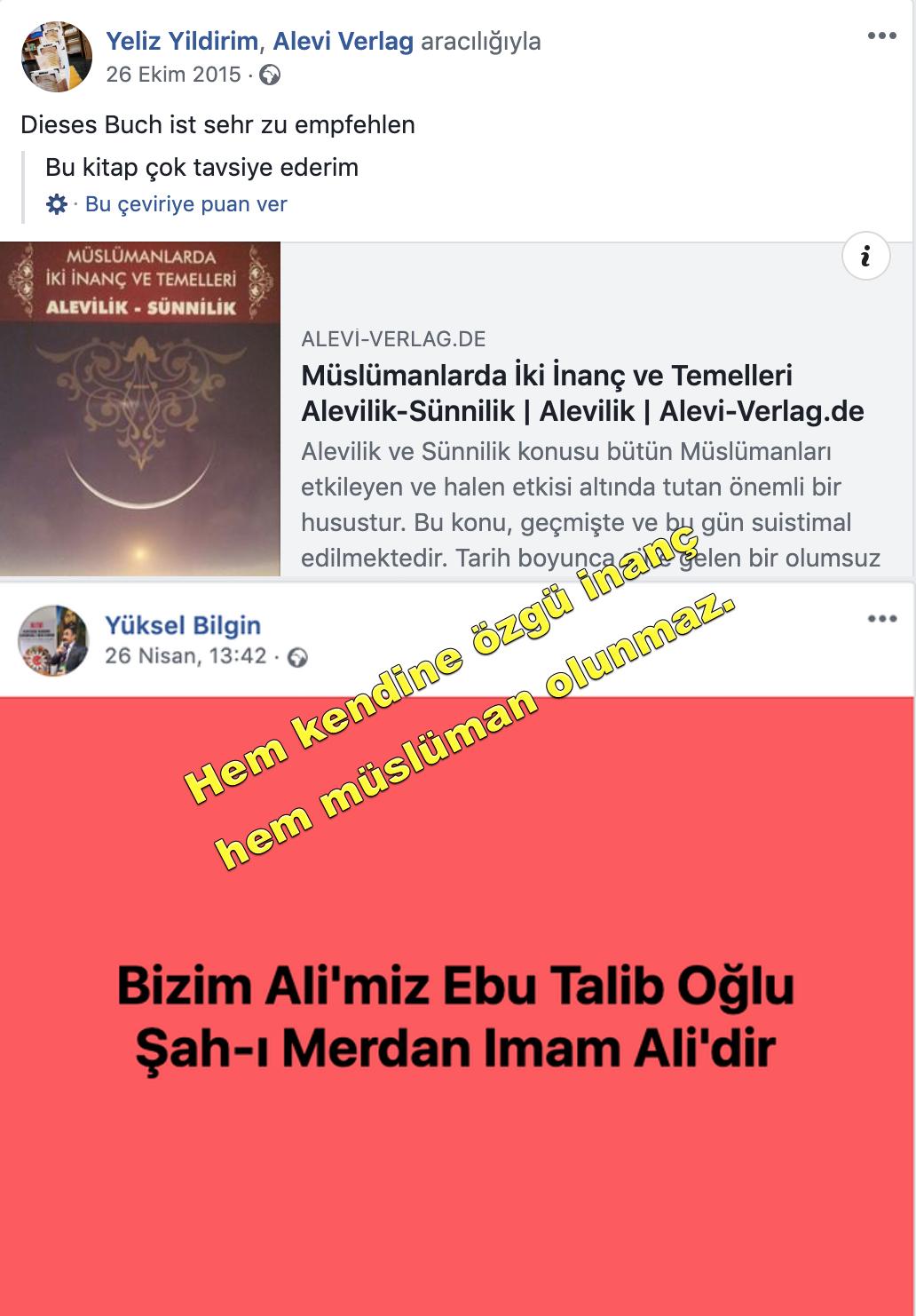 9 Avusturya Alevi islamcı Aleviler  DAB devrimci Aleviler Birliği hem müslüman hem alevi